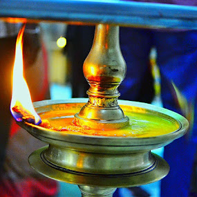 May the Festival of Light be the harbinger of joy and prosperity!Another contribution to my Hindu friends.. This macro shot of a brass oil lamp was shot on my Nikon in Chennai about 2 months ago .. by Abdul Salim - Novices Only Objects & Still Life