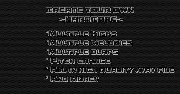 Hardcore gabber drums app Screenshot 1