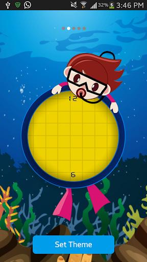 Bubble Clock LiveWallpaper Pro