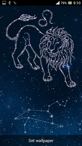 Zodiac Leo Live Wallpaper