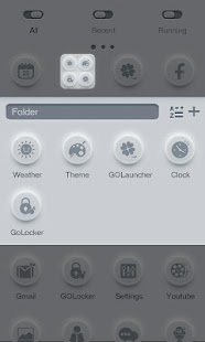 During - GO Launcher Theme - screenshot thumbnail