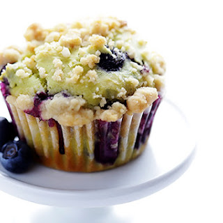 Blueberry Avocado Muffins