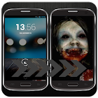 scare any one touch my phone icon
