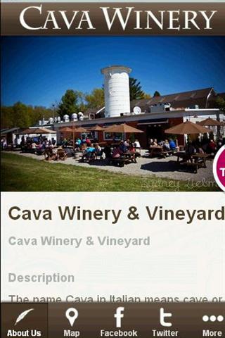 Cava Winery Vineyard