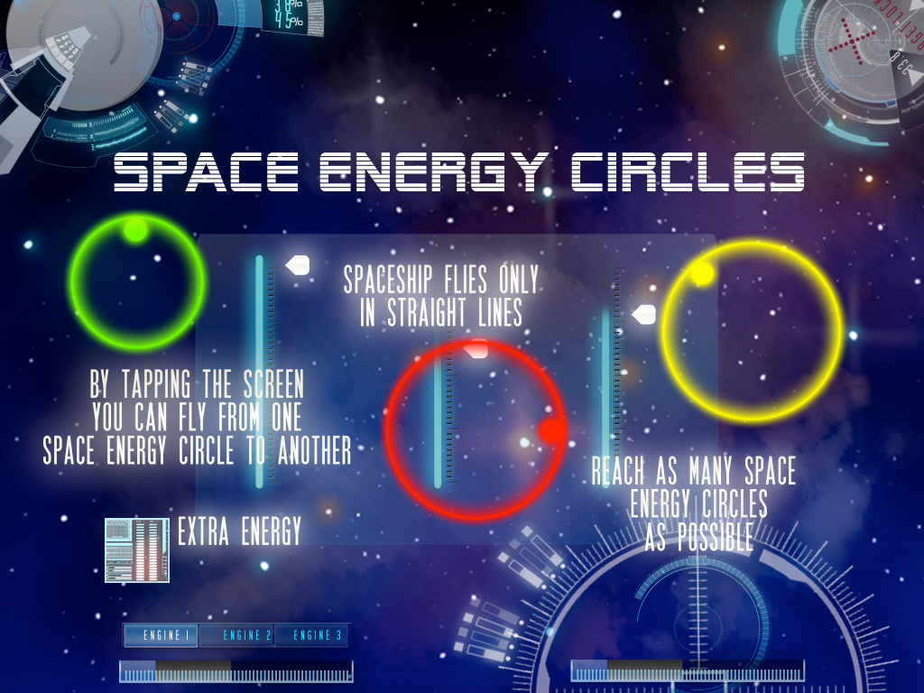Space Energy Circles- screenshot