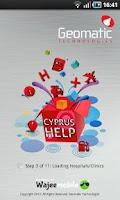 Screenshot of Cyprus Geomatic Map