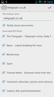 My Sites - news reading- screenshot thumbnail
