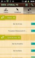 Screenshot of Rota Litoral PE