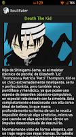 Screenshot of Soul Eater Personajes