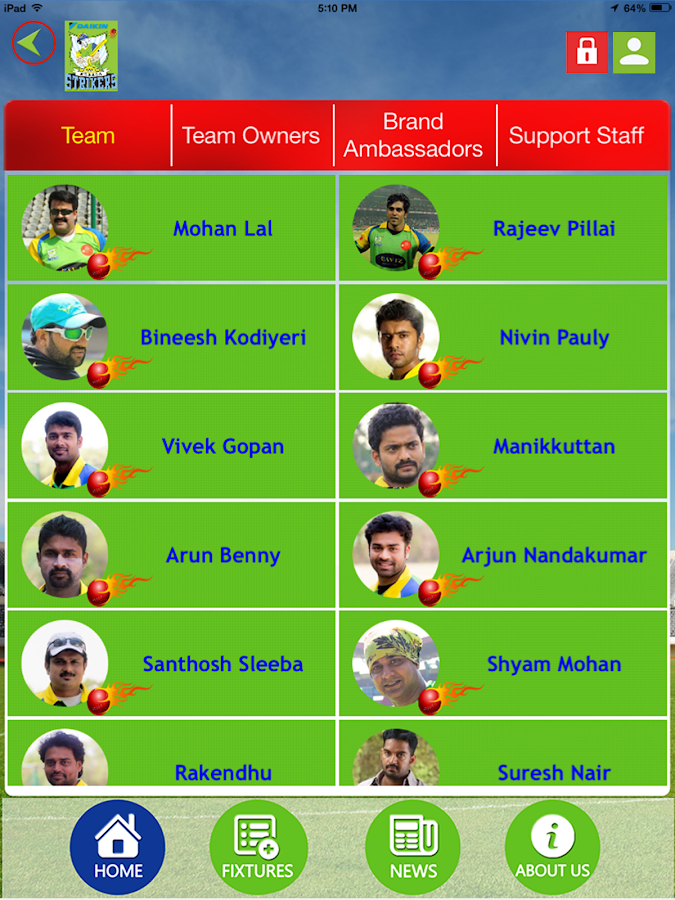 Kerala Strikers Official- screenshot