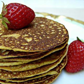 Grain Free Pumpkin Pancakes.
