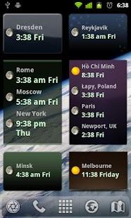 玩免費商業APP 下載World Clock Widget app不用錢 硬是要APP