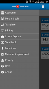 BMO Harris Mobile Banking- screenshot thumbnail