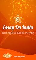 Screenshot of Essay on India