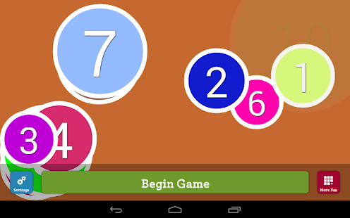 Counting Numbers Infant App Screenshot