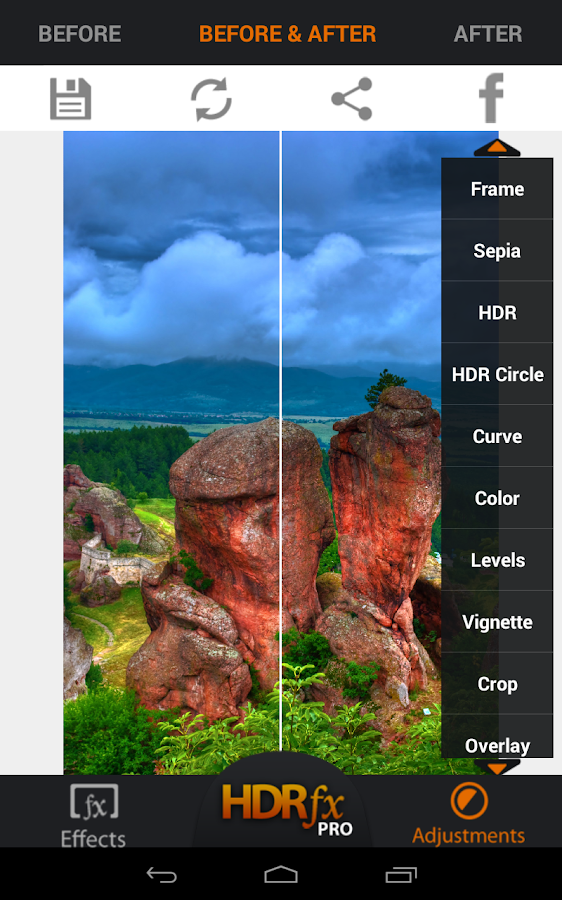 HDR FX Photo Editor Pro- screenshot