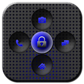 GO Locker Titanium Blue Theme