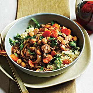 Couscous-Arugula Salad.