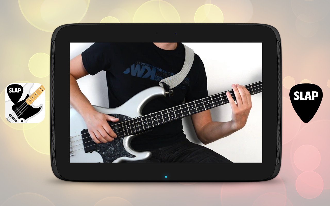 SLAP Bass Lessons HD VIDEOS - screenshot