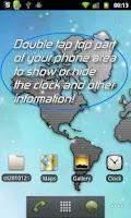 Screenshot of One World LiveWP w/ RSS Reader