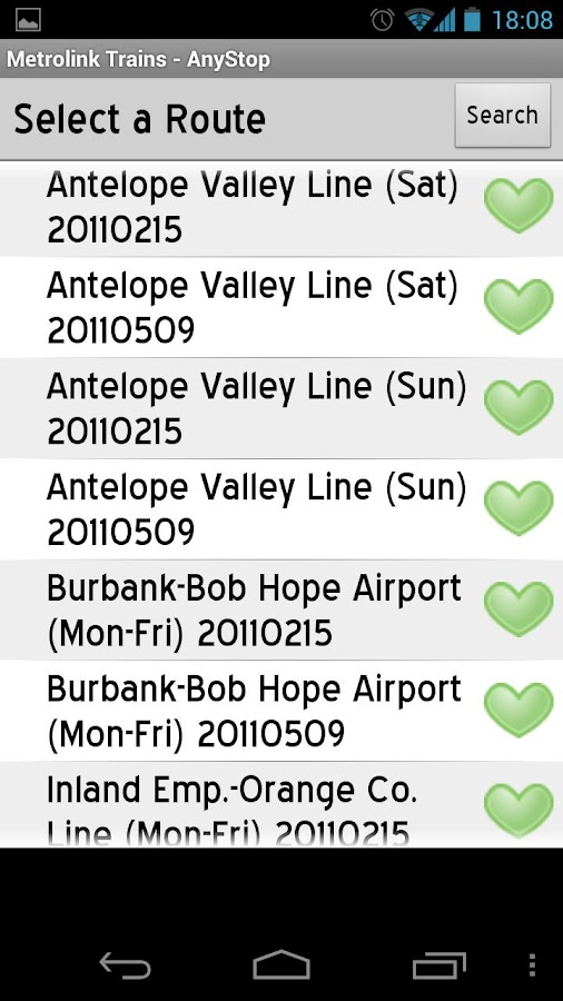 Metrolink LA: AnyStop - screenshot