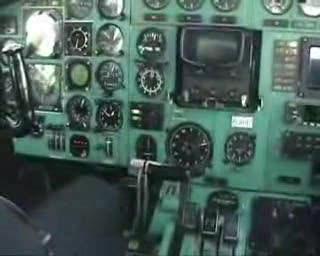 Tu-154 landing