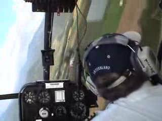 SA 315B Lama extreme flying