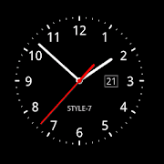 App Analog Clock Live Wallpaper-7 APK for Windows Phone