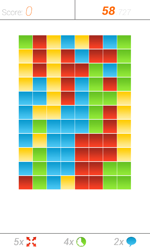 The Square Multiplayer Puzzles - screenshot