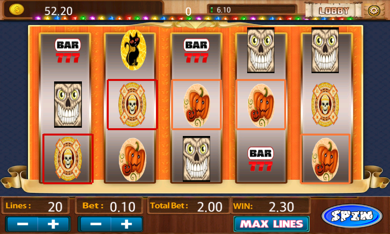 Super Double Down Slot Machine - screenshot