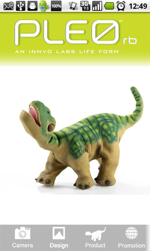 PLEO rb - screenshot