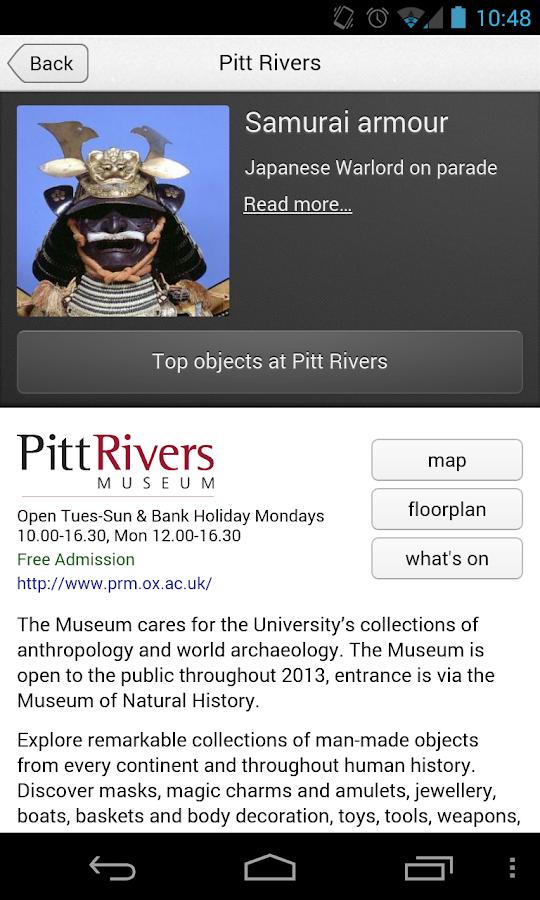Explore Oxford Uni Museums - screenshot