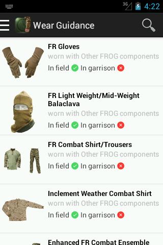 USMC Org Wear Guide