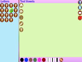 Screenshot of Trace Malayalam Alphabets Kids