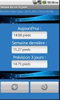 Screenshot of Niveau du Lac St-Jean Gratuit