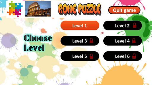 Rome Puzzle Game