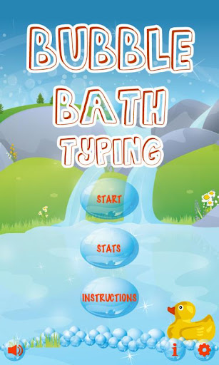Bubble Bath Typing Free