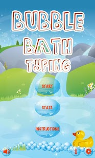 Bubble Bath Typing Free