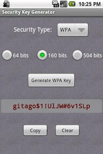 Security Key Generator- screenshot thumbnail
