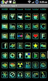 Icon App 8 ADW/OH/DVR/CP screenshot
