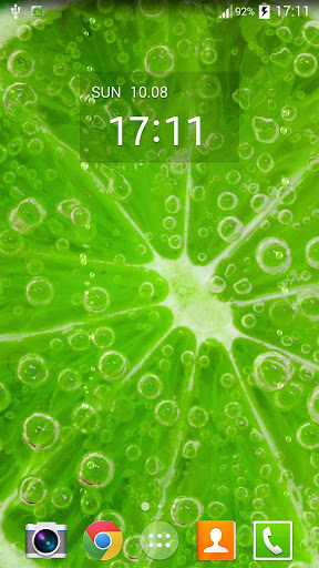 Lime Juice Live Wallpaper
