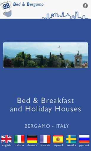 Bed and Bergamo