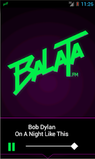Balata.fm - screenshot thumbnail