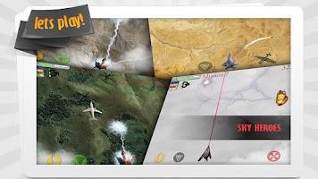 Screenshot of Sky Heroes free