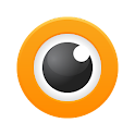 Orange Eye icon