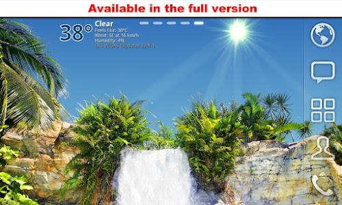 True Weather, Waterfalls FREE screenshot 6