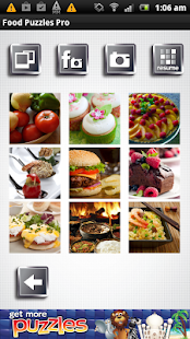Food Puzzles - Free and Yummy - screenshot thumbnail