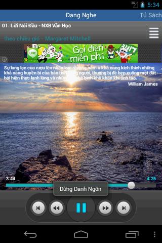 Sách Nói- screenshot