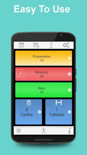 Tabata Timer for HIIT  screenshots 1