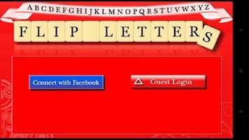 Screenshot of Flip Letters